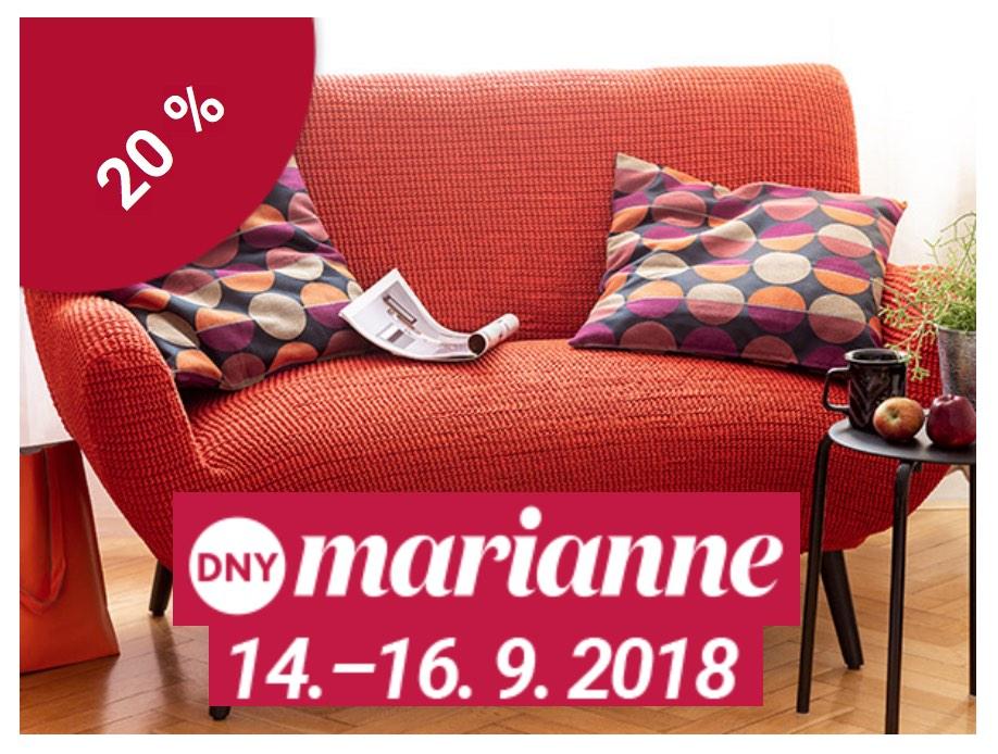 Dny Marianne - Sleva 20% na všechny potahy!
