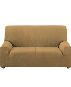 Napínací potah na sedačku - dvojkřeslo béžový 130-180 béžová  - potahy od Bonatex