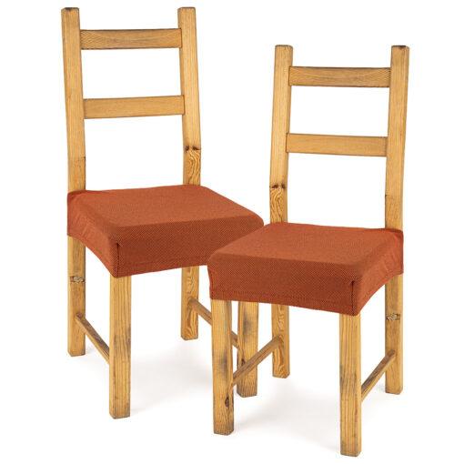 4Home-Multielasticky-potah-na-sedak-na-zidli-Comfort-terracotta-40-50-cm-sada-2-ks