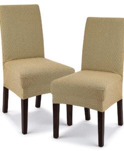 potah na židli Comfort béžová