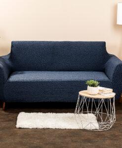 potah na sedačku Comfort Plus modrá