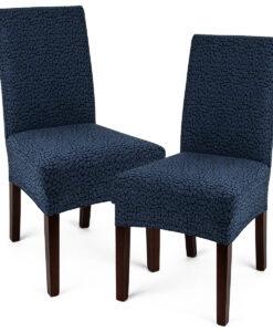 potah na židli Comfort Plus modrá