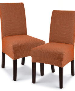 potah na židli Comfort terracotta