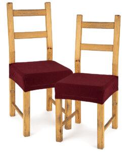 potah na sedák na židli Comfort bordó