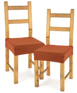 potah na sedák na židli Comfort terracotta