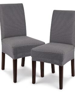 potah na židli Comfort šedá