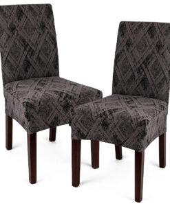 potah na židli Comfort Plus šedá